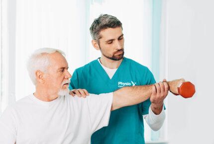 Physio Hassenpflug - Die Anwendung einer Krankengymnastikin Viersen