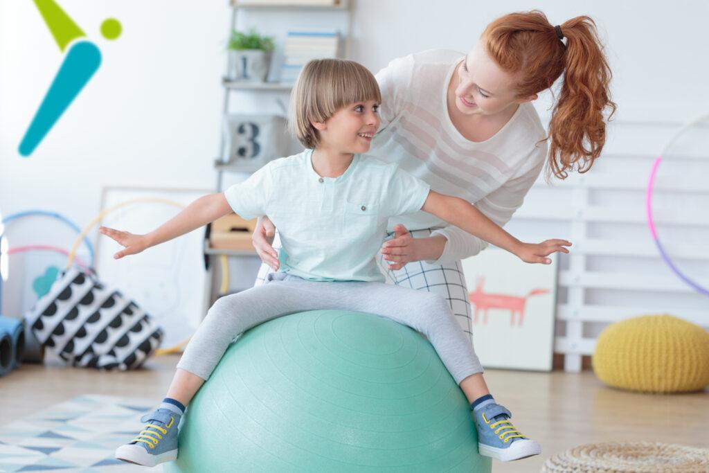 Physio Hassenpflug bei der Anwendung Psychomotorische Übungsbehandlung für Kinder in Viersen